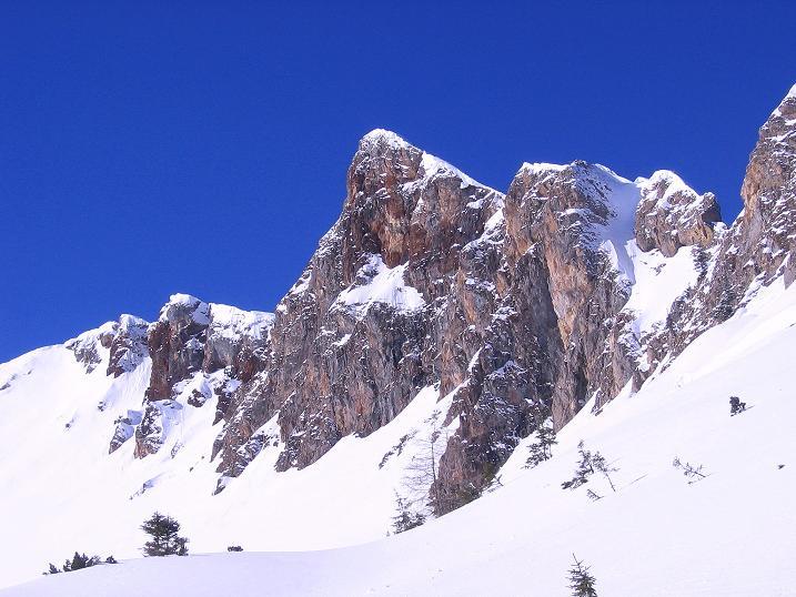 Foto: Andreas Koller / Ski Tour / Über den Leobner (2036m) / Leobner Mauer / 25.01.2009 23:43:30