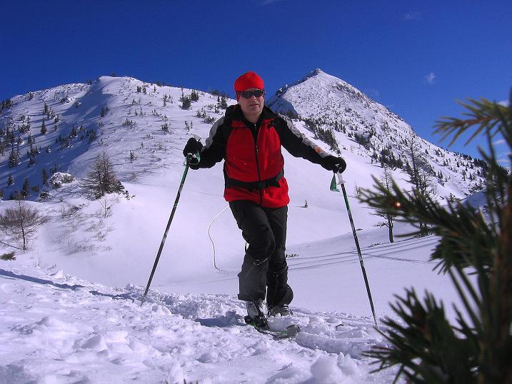 Foto: Andreas Koller / Ski Tour / Über den Leobner (2036m) / Kurz nach dem Leobner Törl / 25.01.2009 23:43:18