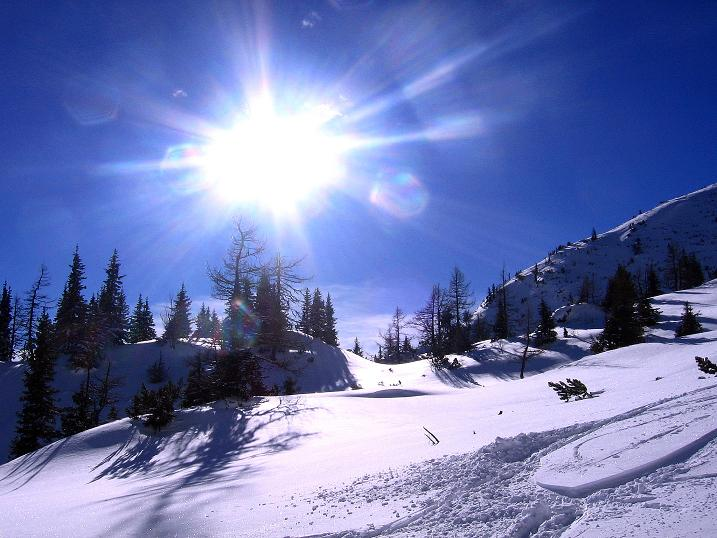 Foto: Andreas Koller / Ski Tour / Über den Leobner (2036m) / 25.01.2009 23:43:01