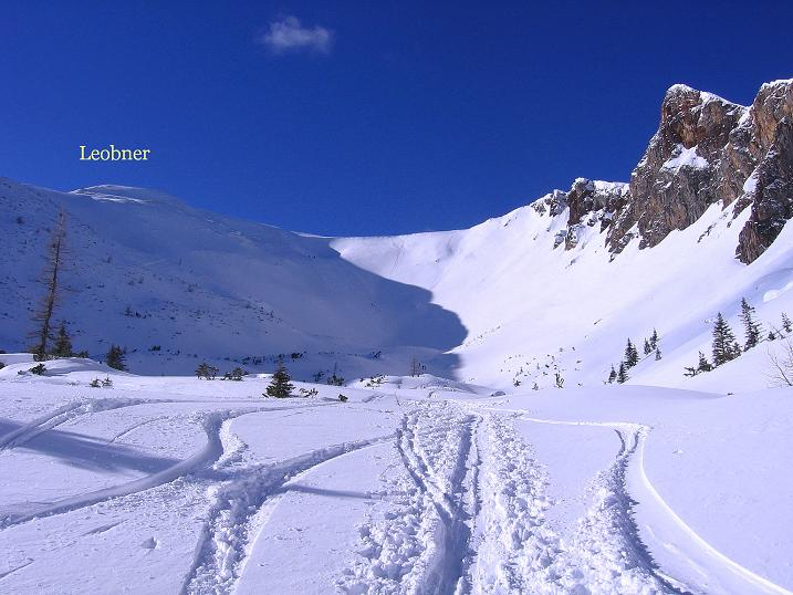 Foto: Andreas Koller / Ski Tour / Über den Leobner (2036m) / 25.01.2009 23:42:50