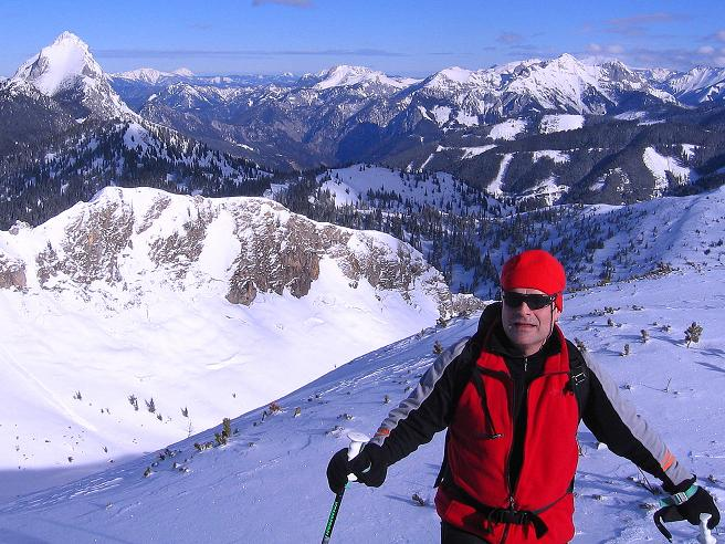 Foto: Andreas Koller / Ski Tour / Über den Leobner (2036m) / 25.01.2009 23:40:38