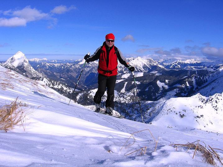 Foto: Andreas Koller / Ski Tour / Über den Leobner (2036m) / 25.01.2009 23:38:57
