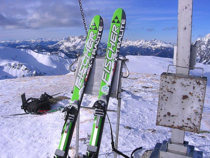 Foto: Andreas Koller / Ski Tour / Über den Leobner (2036m) / 25.01.2009 23:37:45