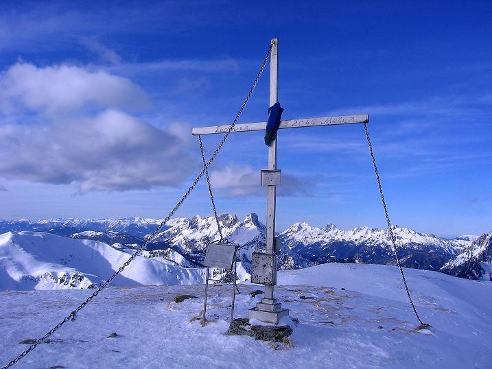 Foto: Andreas Koller / Ski Tour / Über den Leobner (2036m) / 25.01.2009 23:37:00