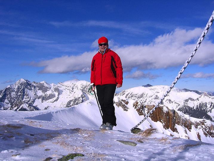 Foto: Andreas Koller / Ski Tour / Über den Leobner (2036m) / 25.01.2009 23:36:28