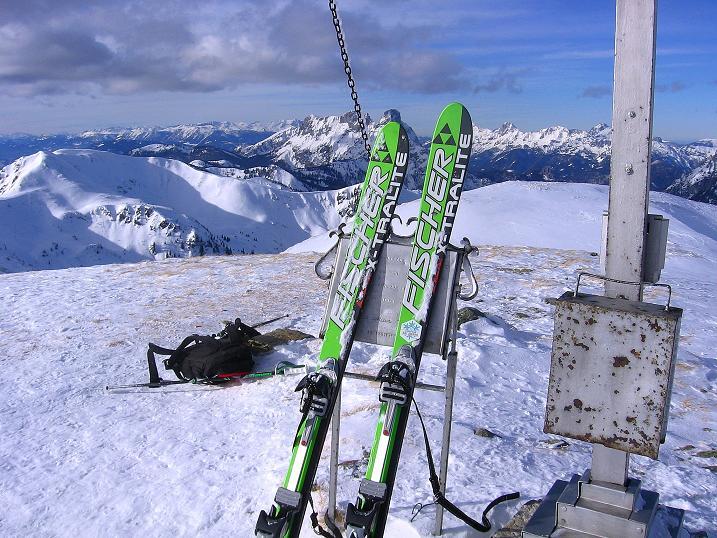 Foto: Andreas Koller / Ski Tour / Über den Leobner (2036m) / 25.01.2009 23:36:16