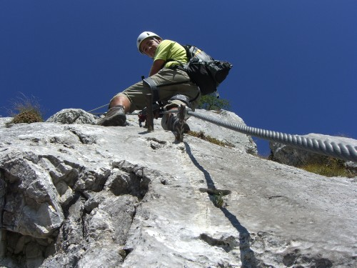 Foto: hofchri / Klettersteig Tour / Hochblaser (1771m) über