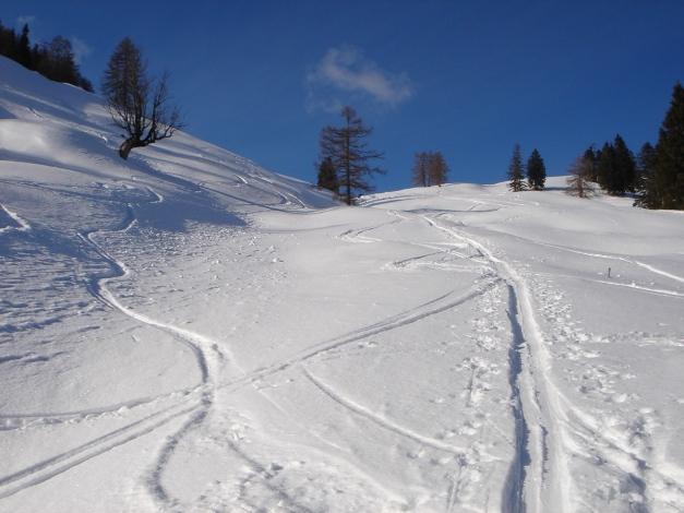 Foto: Manfred Karl / Ski Tour / Vom Gasthof Winkelmoos auf den Karstein / Am Weg zur Edenhausenalm / 26.01.2009 20:29:20