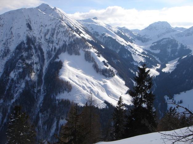 Foto: Manfred Karl / Ski Tour / Vom Gasthof Winkelmoos auf den Karstein / Platte - Wildseeloder - Hoher Mahdstein - Bischof / 26.01.2009 20:27:57