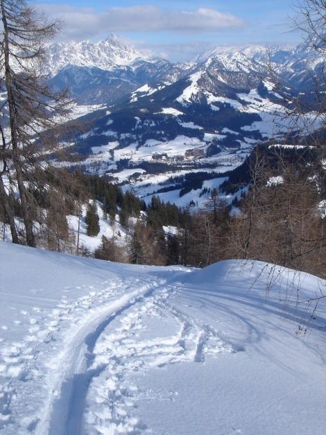 Foto: Manfred Karl / Ski Tour / Vom Gasthof Winkelmoos auf den Karstein / 26.01.2009 20:27:05