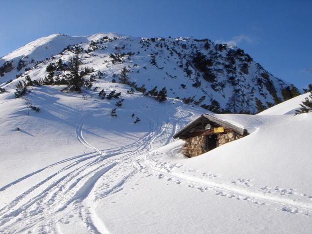 Foto: Manfred Karl / Ski Tour / Vom Gasthof Winkelmoos auf den Karstein / Bichl Schafalpe / 26.01.2009 20:25:44