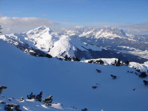 Foto: Manfred Karl / Ski Tour / Vom Gasthof Winkelmoos auf den Karstein / Kitzbüheler Horn und Wilder Kaiser / 26.01.2009 20:23:17