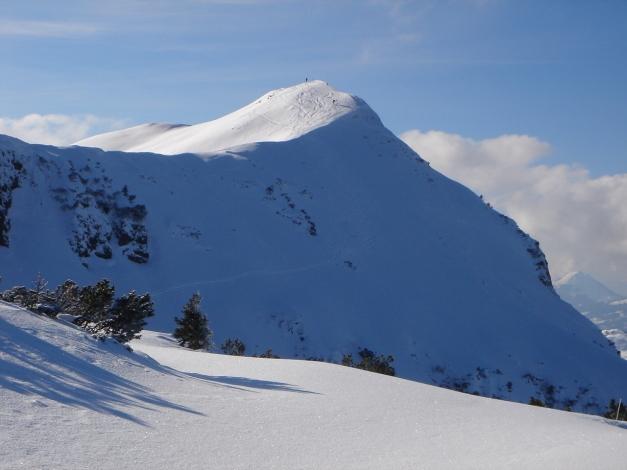 Foto: Manfred Karl / Ski Tour / Vom Gasthof Winkelmoos auf den Karstein / Karsteingipfel / 26.01.2009 20:22:32