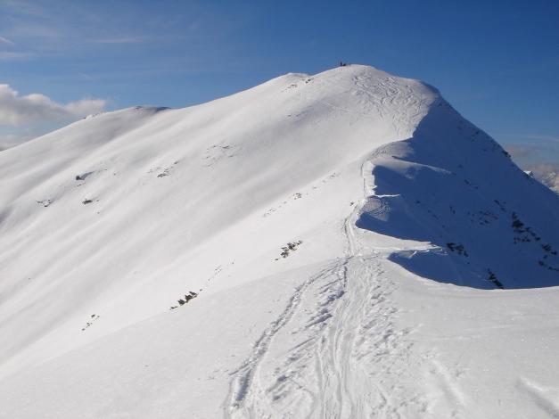 Foto: Manfred Karl / Ski Tour / Vom Gasthof Winkelmoos auf den Karstein / Gipfelaufschwung / 26.01.2009 20:21:21