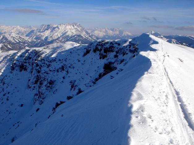 Foto: Manfred Karl / Ski Tour / Vom Gasthof Winkelmoos auf den Karstein / Kurz vor dem Gipfel / 26.01.2009 20:20:04
