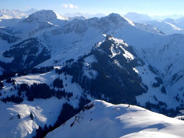 Foto: Manfred Karl / Ski Tour / Vom Gasthof Winkelmoos auf den Karstein / Bischof - Gebra (Ranken) / 26.01.2009 20:18:18