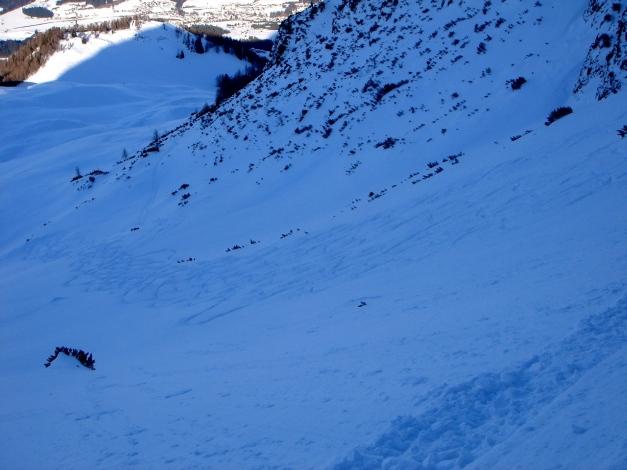 Foto: Manfred Karl / Ski Tour / Vom Gasthof Winkelmoos auf den Karstein / Nordkar / 26.01.2009 20:15:57