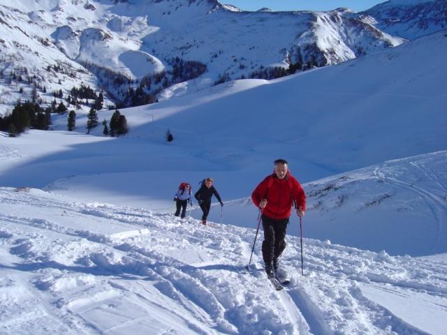 Foto: Manfred Karl / Ski Tour / Schöpfing (2143m) / Blick zur Aignerhöhe / 26.01.2009 21:04:38
