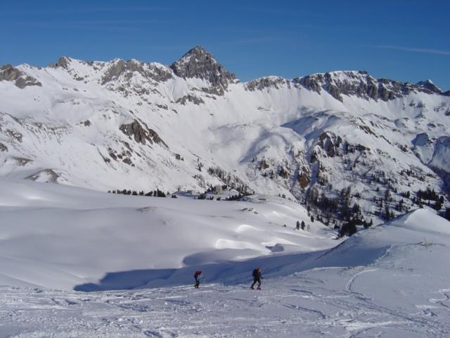 Foto: Manfred Karl / Ski Tour / Schöpfing (2143m) / Freie weite Hänge laden ein / 26.01.2009 21:04:13