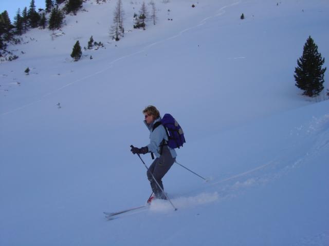 Foto: Manfred Karl / Ski Tour / Schöpfing (2143m) / Da kann man leicht schwingen! / 26.01.2009 20:57:45