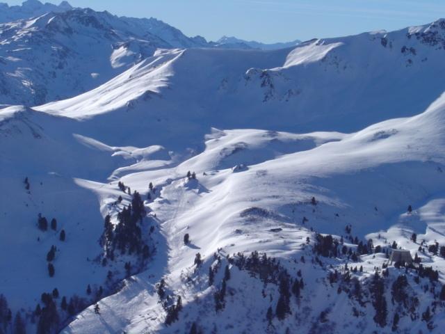 Foto: Manfred Karl / Ski Tour / Schöpfing (2143m) / Blick von gegenüber auf die schönen Karböden des Schöpfing / 26.01.2009 20:56:24