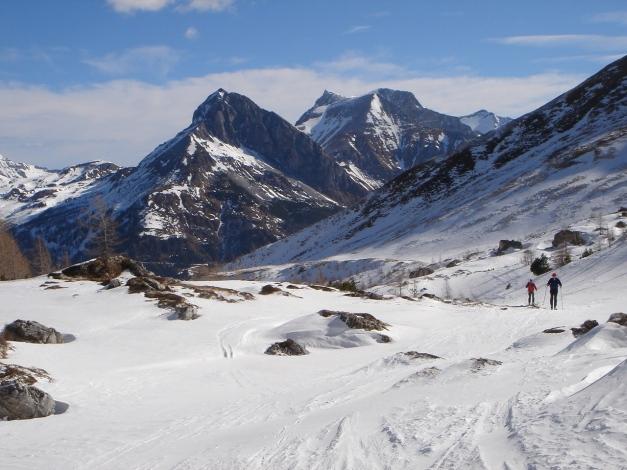 Foto: Manfred Karl / Ski Tour / Durch die Hölle auf das Weißeck / Hochfeindkamm / 26.01.2009 22:13:50