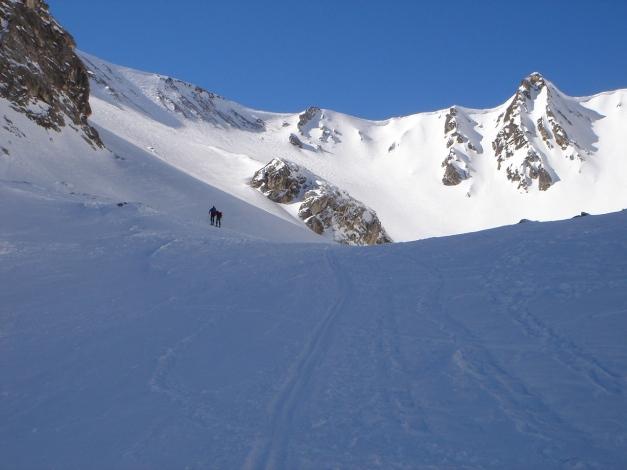 Foto: Manfred Karl / Ski Tour / Durch die Hölle auf das Weißeck / In der Hölle / 26.01.2009 22:13:31