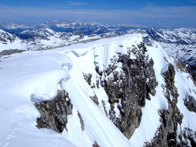 Foto: Manfred Karl / Ski Tour / Durch die Hölle auf das Weißeck / Gipfelwechte / 26.01.2009 22:06:55