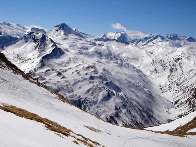 Foto: Manfred Karl / Ski Tour / Durch die Hölle auf das Weißeck / Am Rückweg zur Felskarspitze im oberen Weißkar / 26.01.2009 22:04:16