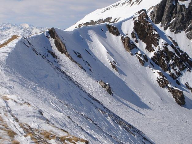 Foto: Manfred Karl / Ski Tour / Durch die Hölle auf das Weißeck / Einfahrt in die Hölle / 26.01.2009 22:03:28