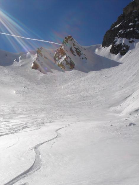 Foto: Manfred Karl / Ski Tour / Durch die Hölle auf das Weißeck / Oberer Teil der Hölle / 26.01.2009 22:03:10