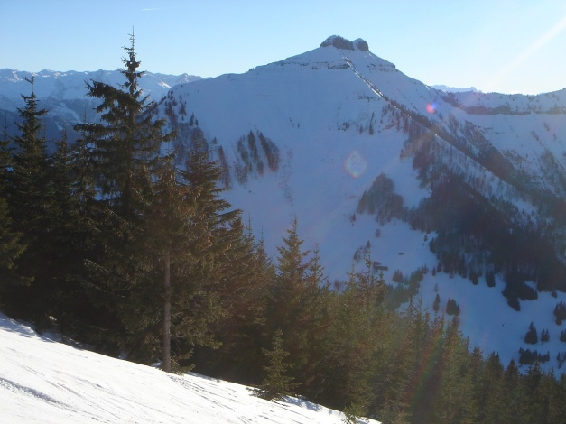 Foto: Manfred Karl / Ski Tour / Grobriedel (1473m) / Schmittenstein / 27.01.2009 06:38:33