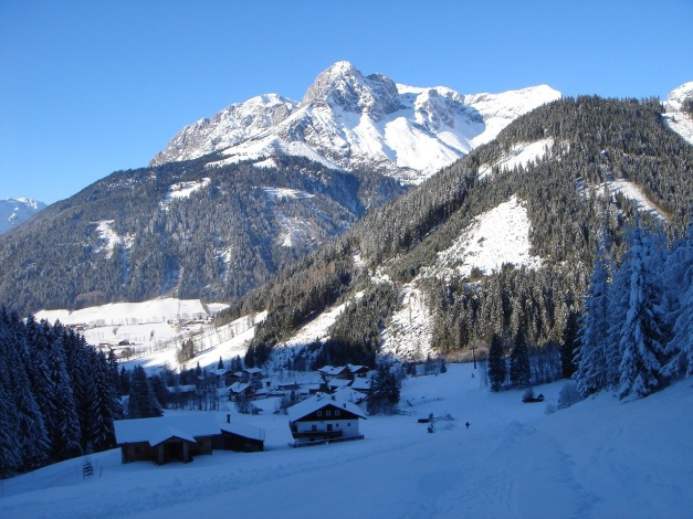 Foto: Manfred Karl / Ski Tour / Aus der Zaglau auf die Bischlinghöhe / Ausgangspunkt Zaglau / 27.01.2009 07:07:18