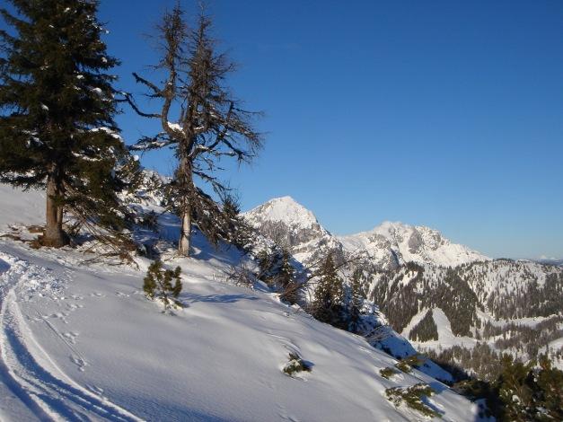Foto: Manfred Karl / Ski Tour / Aus der Zaglau auf die Bischlinghöhe / Fritzerkogel - Hochkarfelderkopf / 27.01.2009 07:05:52
