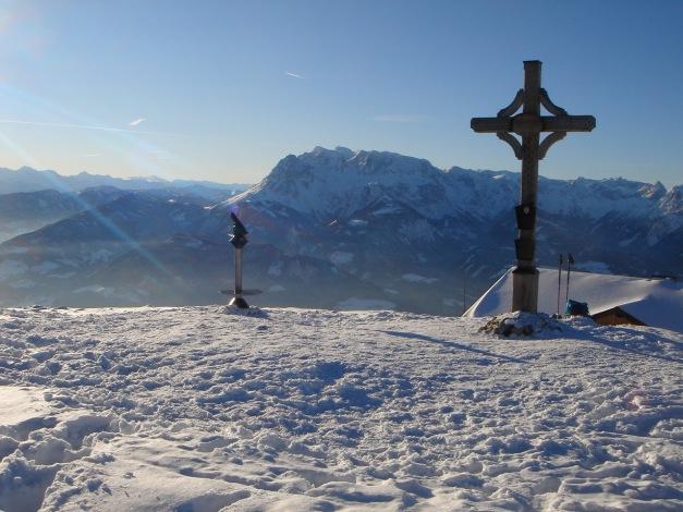 Foto: Manfred Karl / Ski Tour / Aus der Zaglau auf die Bischlinghöhe / Bischling / 27.01.2009 07:04:27