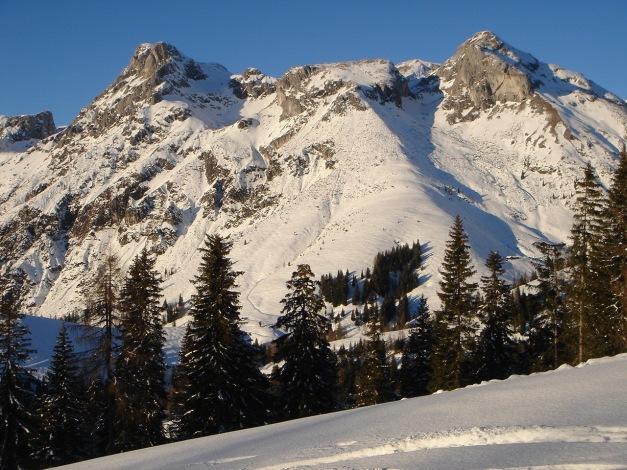 Foto: Manfred Karl / Ski Tour / Aus der Zaglau auf die Bischlinghöhe / Eiskögel und Tauernkogel / 27.01.2009 07:03:43