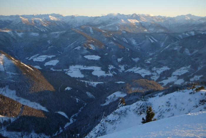 Foto: Manfred Karl / Ski Tour / Aus der Zaglau auf die Bischlinghöhe / Tauernblicke / 27.01.2009 07:01:42