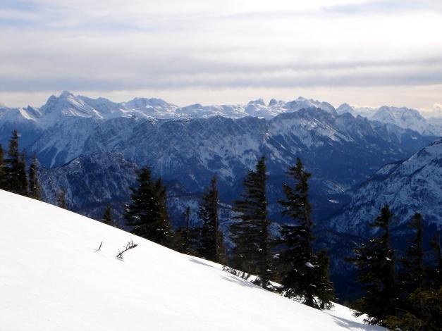 Foto: Manfred Karl / Ski Tour / Zwieselstaufen von Jochberg / Aufstieg oberhalb des Zwieselalmhauses / 27.01.2009 07:40:16