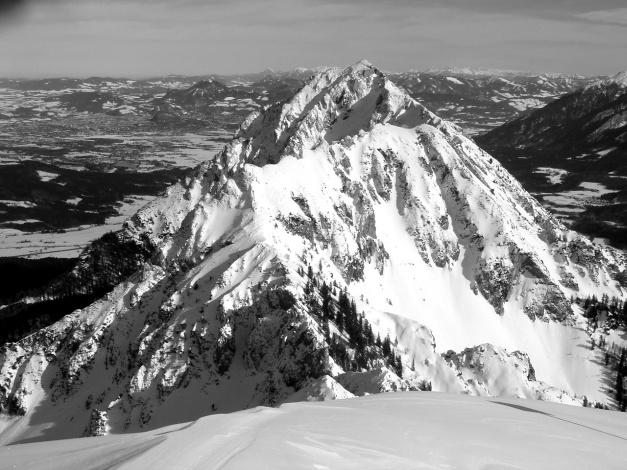 Foto: Manfred Karl / Ski Tour / Zwieselstaufen von Jochberg / Mini - K2: Hochstaufen / 27.01.2009 07:39:01