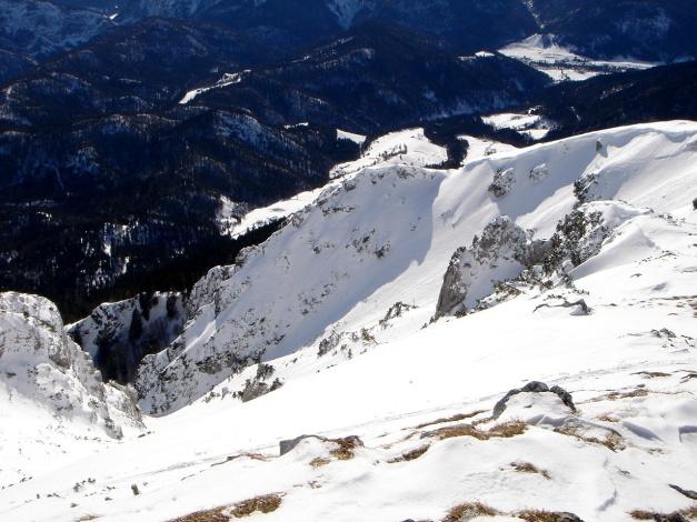 Foto: Manfred Karl / Ski Tour / Zwieselstaufen von Jochberg / Südostrinne vom Zenokopf - bei Firn sehr lohnend / 27.01.2009 07:38:28