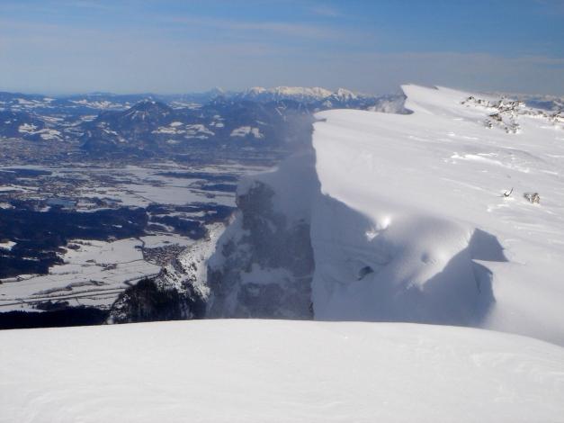 Foto: Manfred Karl / Ski Tour / Zwieselstaufen von Jochberg / Salzburger Becken / 27.01.2009 07:37:34