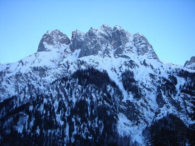 Foto: Manfred Karl / Ski Tour / Vorderberghörndl (2082m) / Ramsauer Dolomiten / 27.01.2009 08:03:45