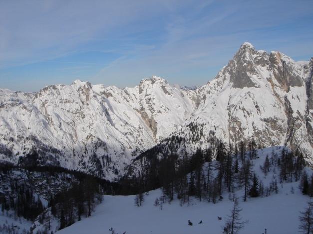 Foto: Manfred Karl / Ski Tour / Vorderberghörndl (2082m) / Gratlinie vom Gernhorn zu den Mühlsturzhörnern / 27.01.2009 08:00:43