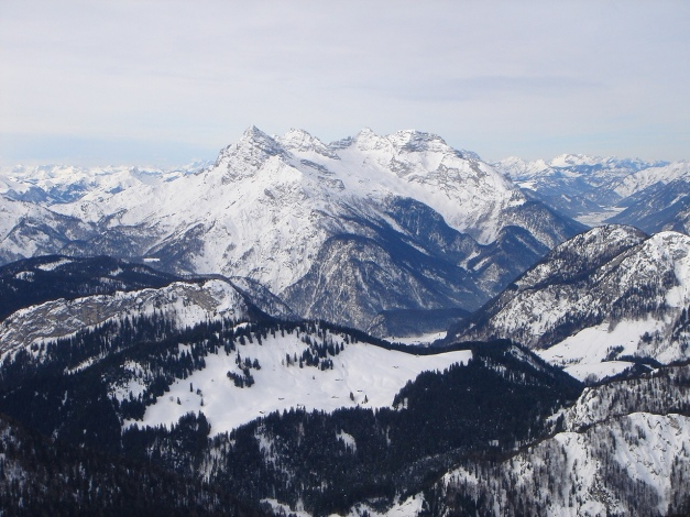 Foto: Manfred Karl / Ski Tour / Vorderberghörndl (2082m) / Loferer Steinberge / 27.01.2009 07:59:22