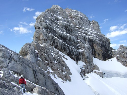 Klettersteig Dachstein : Erfahrungsbericht u vaude klettersteig camp drahtseilakt am