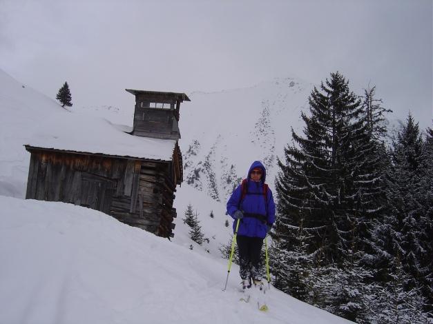 Foto: Manfred Karl / Ski Tour / Joch (2052m) / Kurze Verschnaufpause / 28.01.2009 14:22:14