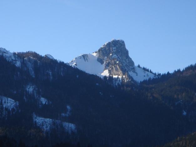 Foto: Manfred Karl / Ski Tour / Durch das Ostertal auf die Hörndlwand / Hörndlwand mit dem Ostertal / 28.01.2009 22:24:52