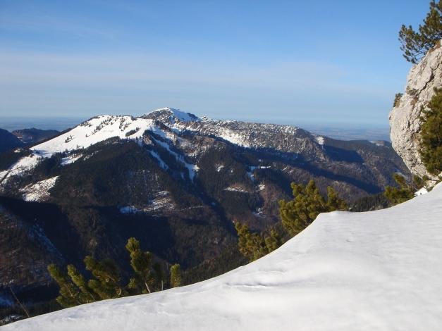 Foto: Manfred Karl / Ski Tour / Durch das Ostertal auf die Hörndlwand / Haaralmschneid - Hochfelln / 28.01.2009 22:21:00
