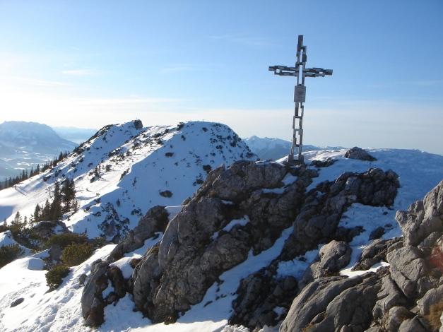 Foto: Manfred Karl / Ski Tour / Durch das Ostertal auf die Hörndlwand / Schigipfel der Hörndlwand / 28.01.2009 22:20:21
