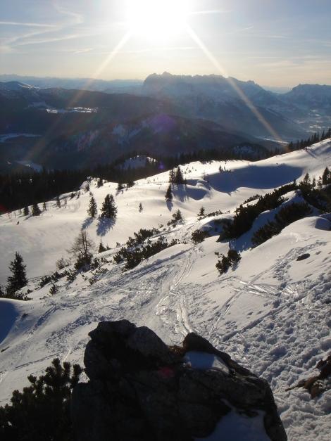 Foto: Manfred Karl / Ski Tour / Durch das Ostertal auf die Hörndlwand / 28.01.2009 22:19:42